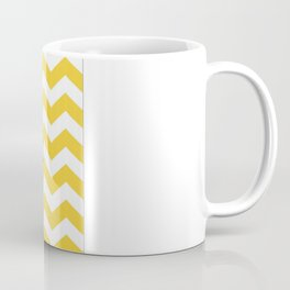 Peace Hope Love Chevron Coffee Mug