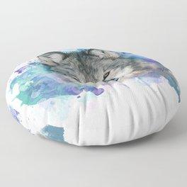 She Wolf Floor Pillow