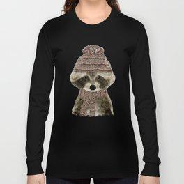 little indy raccoon Long Sleeve T-shirt