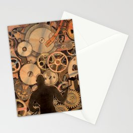 Steel Drivin' Man Stationery Cards