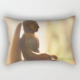 Dreaming Like Buddha Rectangular Pillow