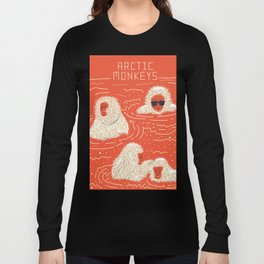 Actual Arctic Snow Monkeys Long Sleeve T-shirt
