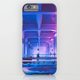 Glitchy Dreams Of You iPhone Case