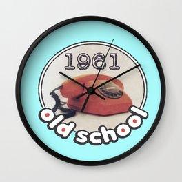 Old School Phone 1961 Wall Clock