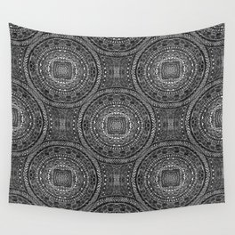 Tangled Mandala Pattern Wall Tapestry