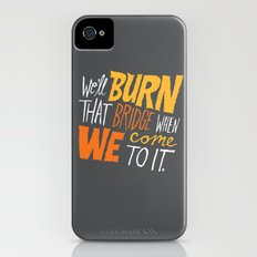 Burning Bridges v.2 Slim Case iPhone (4, 4s)
