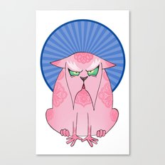 Sourpuss Canvas Print