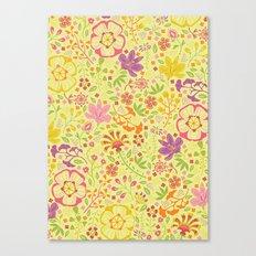 Oriental Blooms Canvas Print