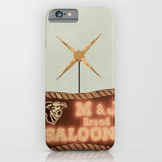 Retro Saloon Sign iPhone & iPod Case