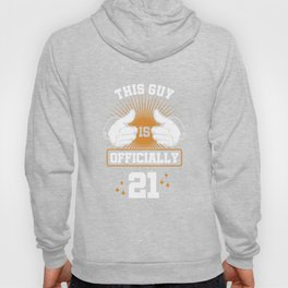 21 st Birthday Celebration Gift For Men Born In 1999 This Guy Is Officially 21 Party Birth Hoody