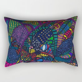 """Mania"" Rectangular Pillow"
