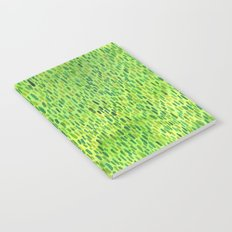 Watercolor Grass Pattern Green by Robayre Notebook