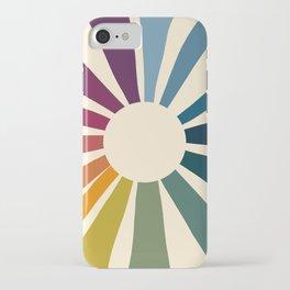 Retro Blossom iPhone Case