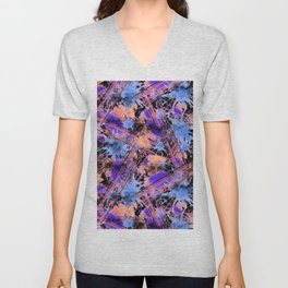 Abstract pattern. Unisex V-Neck