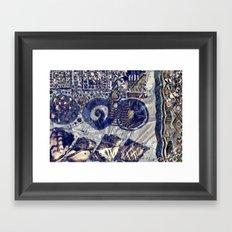 Runas. Framed Art Print