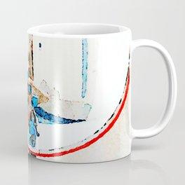 Borrello: photographer reflected in the street mirror Coffee Mug