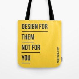 Design For Them Tote Bag