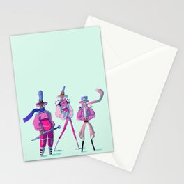 Glitter Warriors Stationery Cards