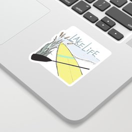 Minnesota Lake Life Sticker