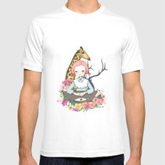 Jenny Eat Breakfast Mens Fitted Tee MEDIUM White