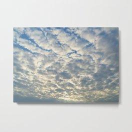 Shimmering Sky Metal Print