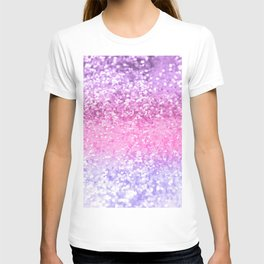 Unicorn Girls Glitter #2 #shiny #decor #art #society6 T-shirt