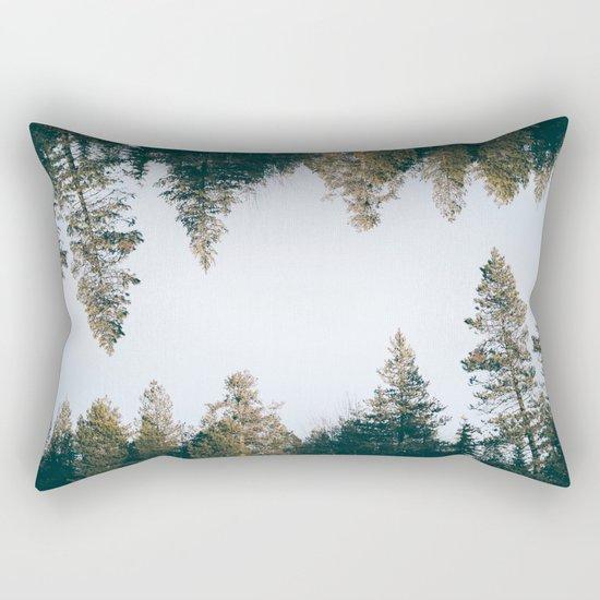 Forest Reflections IX Rectangular Pillow