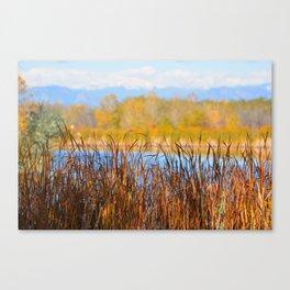 Fall at RMA Canvas Print
