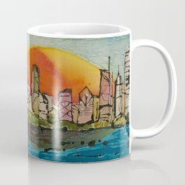 Color Me Chicago Coffee Mug
