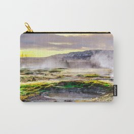 Geysers valley in Iceland Carry-All Pouch