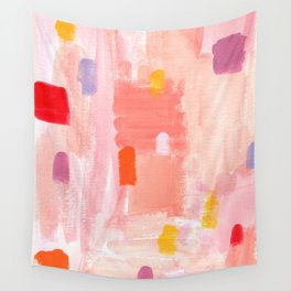 Put Sorrows In A Jar - abstract modern art minimal painting nursery Wall Tapestry