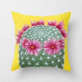Aye Mammi Throw Pillow