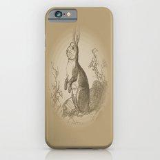 Bunny Rabbit {teddy bear brown} iPhone 6s Slim Case