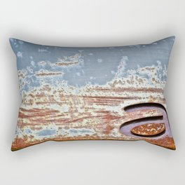 In Rust We Trust Rectangular Pillow