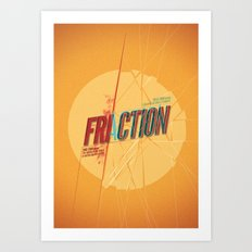 Fri/actionn Art Print