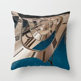 Time Warp 1 Throw Pillow