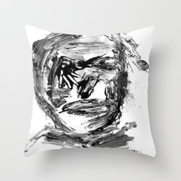 FACE EXPLOSIVE VI. Throw Pillow