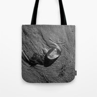 jelly fish Tote Bags featuring Jelly Fish by Paul Vayanos