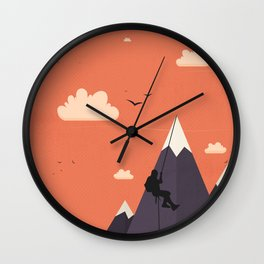 On the Top Wall Clock