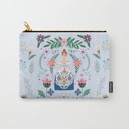 Fairy Tale Folk Art Garden Carry-All Pouch