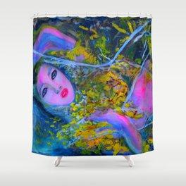 RUSALKA #society6 #decor #buyart Shower Curtain