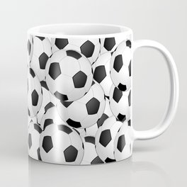 Soccer Ballls Coffee Mug