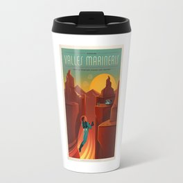 Camping On Mars Travel Mug