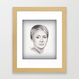Tris Prior Framed Art Print