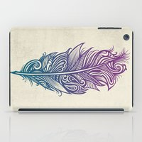 supreme iPad Cases featuring Supreme Plumage by Rachel Caldwell
