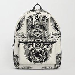 Hamsa Hand Panda Backpack
