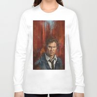 true detective Long Sleeve T-shirts featuring True Detective by LucioL