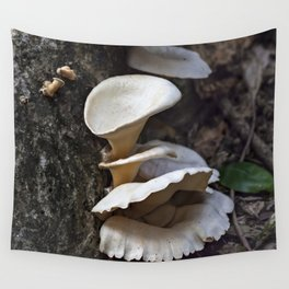 Fungi on a tree Wall Tapestry