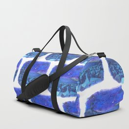 A shooting star and streets Duffle Bag
