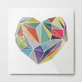 Heart Graphic 5 Metal Print